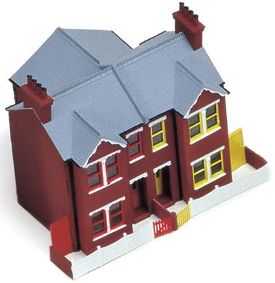 Hornby Victorian Semi-detached House Kit R273