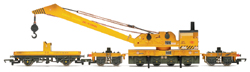 Hornby R6204 BR 75t Operating Breakdown Crane (weathered)