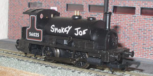 BR Black 0-4-0 Smokey Joe R782 Picture