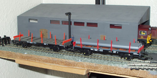 Hornby 45 Ton Glw Steel Carrier R427 and R6209b