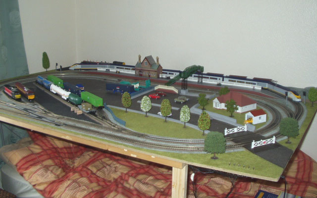 Model Railway Layout - Hornby