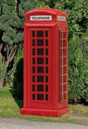 Model Railway Scenery Review - Hornby Skaledale Telephone Kiosk - R8580