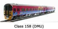 Model Railway Review - Bachmann Class 158 2-Car DMU - (31-026)
