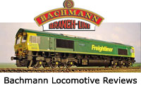 Bachmann Model Railway Locomotive Reviews - Steam, Electric, Diesel, DMU, EMU