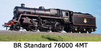 Model Railway Review - Bachmann 00 BR Standard 76000 4MT (32-592)