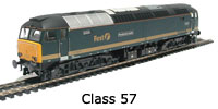 Model Railway Review - Heljan Class 57 Locomotive - First Great Western (5704)