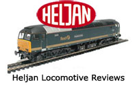 Heljan Model Railway Locomotive Reviews - Steam, Electric, Diesel, DMU, EMU