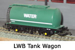 Hornby Model Railway Wagon Review - LWB Tank Wagon (Water) R6081