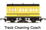 Hornby Model Railway Wagon Review - 4 Wheel Coach - Track Cleaning Car R296