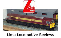 Lima Model Railway Locomotive Reviews - Steam, Electric, Diesel, DMU, EMU