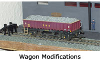 Model RailwayWagon Modifications