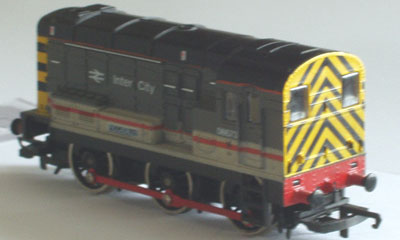 Hornby Model Railway After Flush-Glaze Modification Close Up