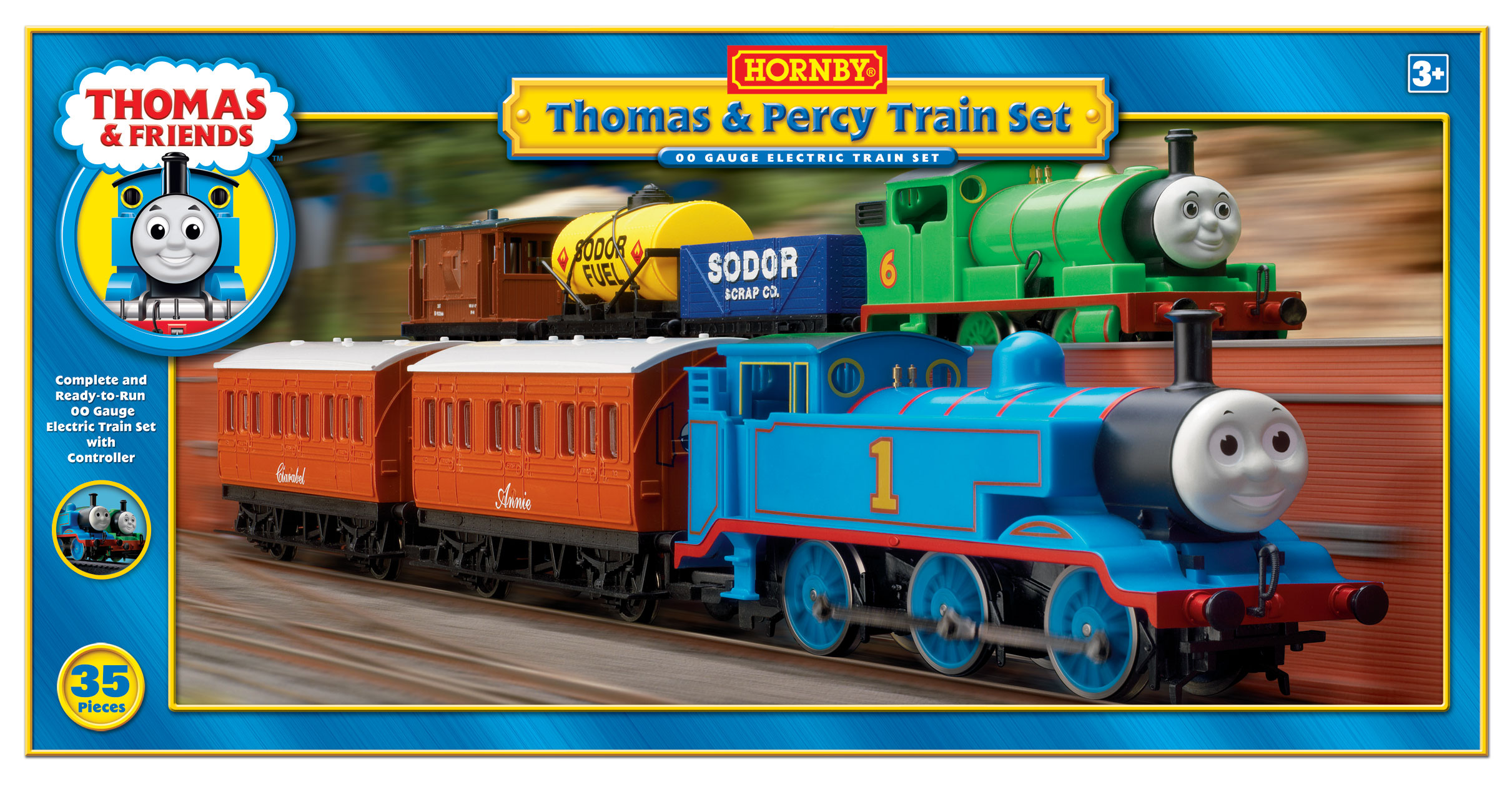 Hornby thomas train set uk version