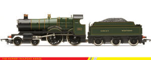 Hornby - RailRoad Range - GWR 4-4-0 County of Bedford Country Class (Loco Drive) - R3061