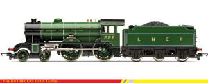Hornby - RailRoad Range - LNER 4-4-0 The Berkeley D49/1 (Loco Drive) - R3062
