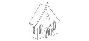 Hornby Skaledale The Chapel - Low Relief - R9757