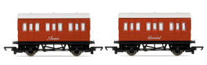 Hornby Thomas the Tank Engine Range - Annie and Clarabel - R9293