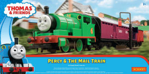 Hornby - Thomas the Tank Engine Range - Percy & The Mail Train Set - R9284