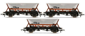 Hornby BR Railfreight HAA MGR Wagons - Three Wagon Pack - R6709