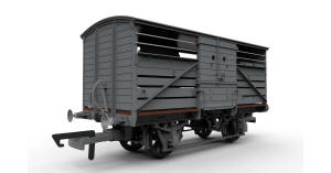 Hornby BR (ex-SR) Cattle Wagon - Maunsell - R6737 / R6737A