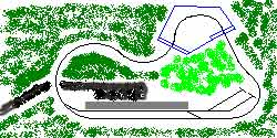 Track Layout Design Small Locos and Wagons