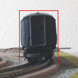 Model Railway Loading Gauge Illistration