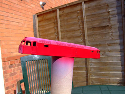 Model Railway Locomotive Respray / Repaint