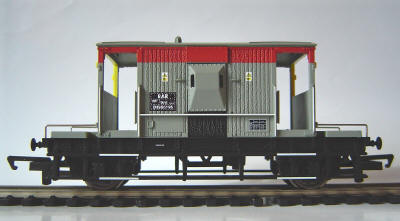 Hornby Model Railway BR 20 Ton Brake Van (R6350)