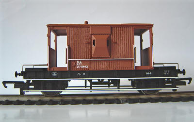 Hornby Model Railway LNER 20 Ton Brake Van (R6307A)