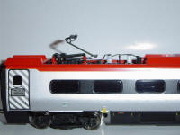 Hornby Model Railway Review - Hornby Virgin Pendolino (R2467X or R2467) pantograph