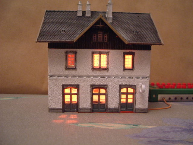 Model Railway Lighting