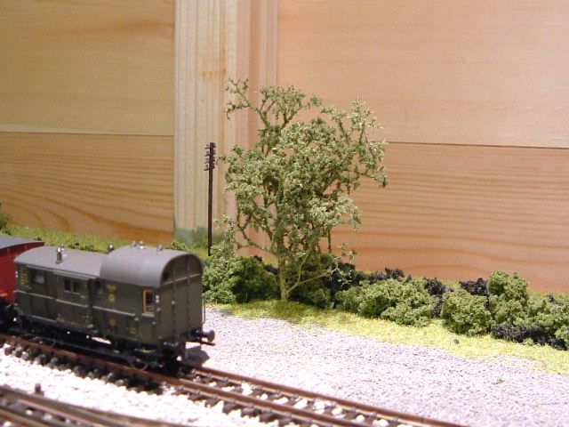 Sea Foam Model Railway Trees