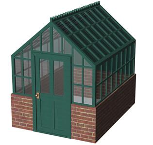 Model Railway Scenery Reviews Hornby Green House R8682