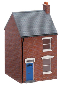 Model Railway Scenery - Hornby Skaledale - Hornby Mid-Terraced House Left Hand - R8621
