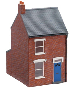 Model Railway Scenery - Hornby Skaledale - Hornby Mid-Terraced House Right Hand - R8622