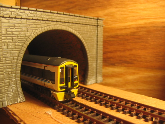 photograph relating to Printable N Scale Track Template referred to as Design Railway Tunnel